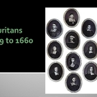 Puritans - Information for an American Literature Class -