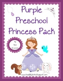 Purple Princess Preschool Pack