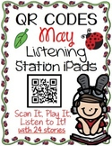 QR CODES for 24 Stories in your Listening Stations: MAY