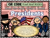 QR Code Adventure:  PRESIDENTS Read Alouds!  10 Books