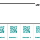 QR Code Foldables-Grade 5 Measurement & Data Common Core aligned