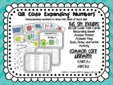 QR Code Math Center Activities: Expanding Numbers using Ba