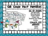 QR Code Math Center Activities: Fact Families/Related Fact