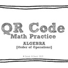 QR Code Math Practice [Algebra - Order of Operations]