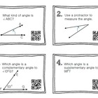 QR Code Math Practice GEOMETRY BUNDLE PACK