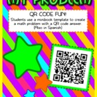 QR Code Math Problem Fun - FREE