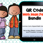 QR Code Mega Pack Math Centers (Common Core Aligned)