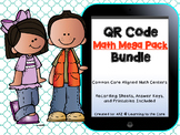 QR Code Mega Pack Math Centers: Common Core Aligned