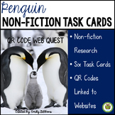 QR Code Task Cards- Penguins