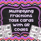 QR Codes Math Task Cards: Multiplying Fractions