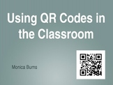 QR Codes and iPads in the Classroom