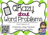 QR Codes: QRazy About Word Problems Volume 1