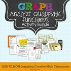 Quadratic Functions Activity Bundle
