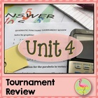 Quadratic Functions Tournament Review Activity
