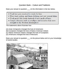 Question Bank - Culture/Tradition - Social Studies (6 - 8)