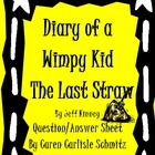 Question Sheet - Diary of a Wimpy Kid - The Last Straw #3