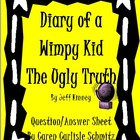 Question Sheet - Diary of a Wimpy Kid - The Ugly Truth #5