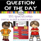 Question of the Day ~Getting to Know You~ with Picture Clues