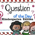 Question of the Day for Kindergarten