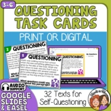 Questioning Task Cards: 32 Multiple Choice Story Cards