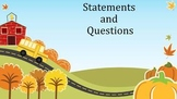Questions and Statements For Kids