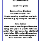Quick Centers and Stations Common Core First Grade Math 1.oa.c.5