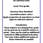 Quick Centers and Stations First Grade Math Common Core 1oab3