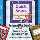 Quick Snips Personal Use Bundle with Template