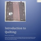Quilting: Addressing common core reading standards