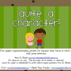 Quite a Character! {Character Graphic Organizers/Common-Co