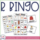 R Bingo for Speech Therapy!