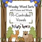 R-Controlled Vowel Word Sorts with Pictures