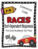 RACES Text-Dependent Reading Response Pack {Close Reading