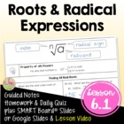 RADICAL FUNCTIONS ALG 2 Lesson 1: Roots and Radical Expressions