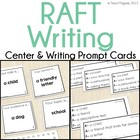 RAFT Writing Topic Cards