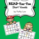 READ-Tac-Toe - Short Vowels