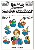 Substitute Teachers' Survival Handbook - Book 1  **Sale Pr