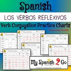 REFLEXIVE VERBS:  Regular Verbs Practice Conjugating Verb Charts