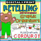 RETELLING: Differentiated Reader's Workshop Templates Plus