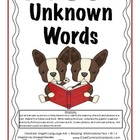 RI.1.4 First Grade Common Core Worksheets, Activity, and Poster