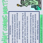RI.2.3 Second Grade Common Core Worksheets, Activity, and Poster