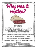 RI.2.6 Second Grade Common Core Worksheets, Activity, and Poster