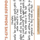 RI.2.8 Second Grade Common Core Worksheets, Activity, and Poster