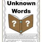 RI.K.4 Kindergarten Common Core Worksheets, Activity, and Poster