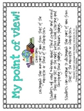 RL.3.6 Third Grade Common Core Worksheets, Activity, and Poster