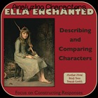 RL.4.3 Describing Characters with Ella Enchanted Lesson Plans