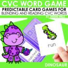 ROAR!!  Dinosaur CVC Game