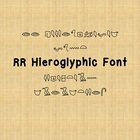 RR Hieroglyphic Font (Personal Use)