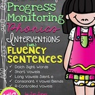 RTI: Fluency Sentences for Progress Monitoring Phonics Int