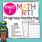 RTI Progress Monitoring Part 2 - Third Grade